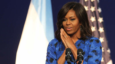 Michelle Obama aspira a un Grammy