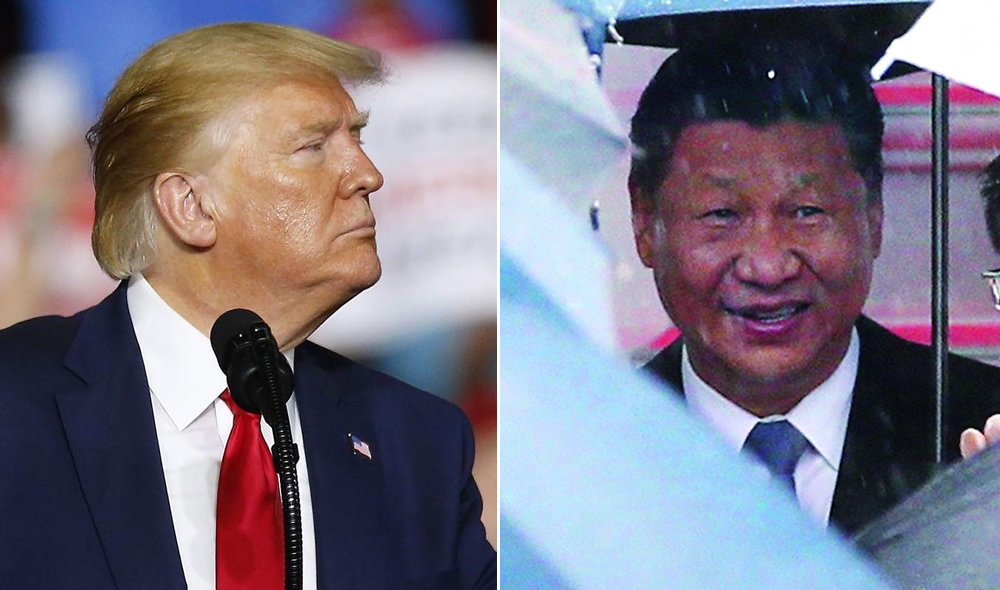 El presidente de Estados Unidos, Donald Trump, y el máximo mandatario chino, Xi Jinping. CJ GUNTHER - JIJI PRESS