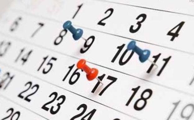 Calendario Diario 2020.Calendario Festivos Castilla Y Leon 2019 2020 Estos Son Los