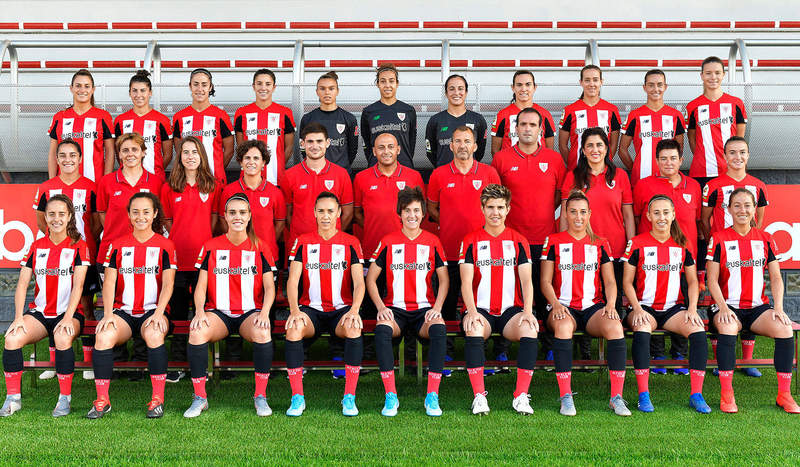 Formación del Athletic Club de la Liga Iberdrola. DL