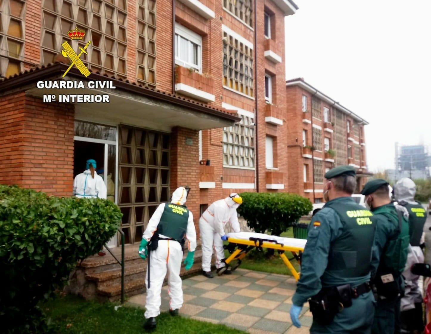 La Guardia Civil interviene para obligar a un positivo por covid a ingresar en el Hospital